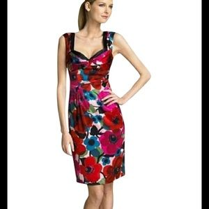 Nanette Lepore silk poppy dress